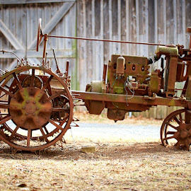 Rusty Tractor by Svemir Brkic - Transportation Other ( old, tractor, rusty, farm, antique,  )