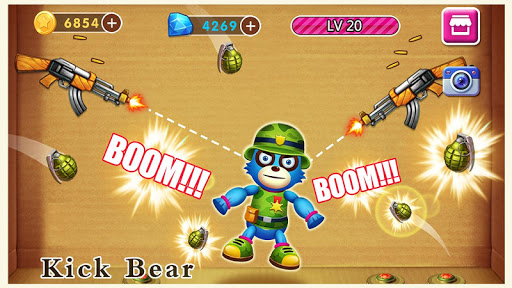 Beat Angry Bear - Funny Challenge Game For PC