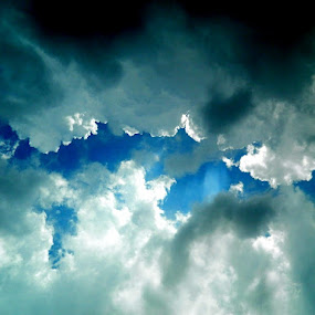 clouds by Divnoor Buttar - Landscapes Cloud Formations