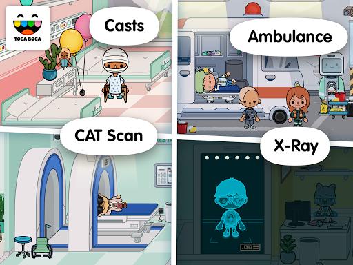 Toca Life: Hospital screenshot 11