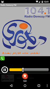 Radio Demozy FM - screenshot