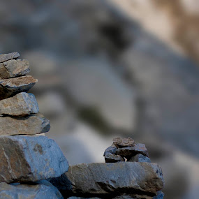 7Up by Shikhar Srivastava - Nature Up Close Rock & Stone ( mountains, goodluck, wishes, stones, buddha )
