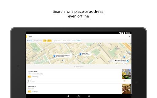 Yandex.Maps screenshot 17