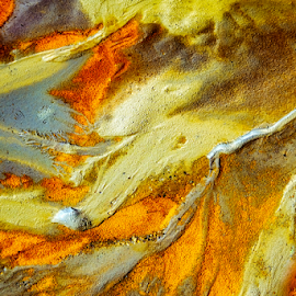 Colors and shapes by Roberto Sorin - Nature Up Close Sand ( shore, curve, detail, smooth, colorful, stone, rock, vibrant, photography, oil, contrast, macro, style, nature, composition, interesting, painting, closeup, abstract, sand, form, shallow, abstract colorful background, texture, pebble beach, wallpaper, beautiful, art, canvas, image, shape, depth, ink, field, effect, sand dunes, outdoors, background, day, earth, design, gradient,  )