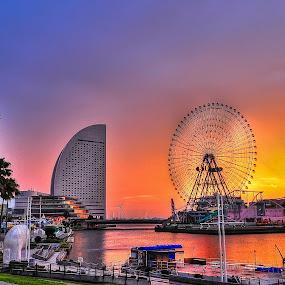 Sakuragicho sunrises by Janiar Putra - Landscapes Sunsets & Sunrises