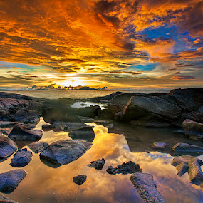 Riddles in the Dark by Andre Adhie - Landscapes Waterscapes