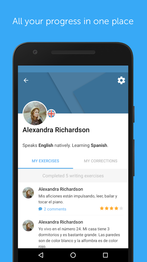 busuu - Easy Language Learning Screenshot 4