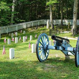 Mackinac Island Cemetery  Civil War by Wendy Alley - City,  Street & Park  Cemeteries (  )