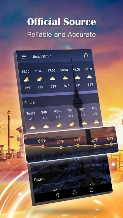 Weather Forecast Pro Screenshot 1