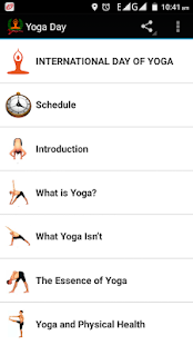 Yoga Day - screenshot
