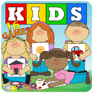 16 fun games for kids, puzzles, memory, colors, motor skills... APK Icon