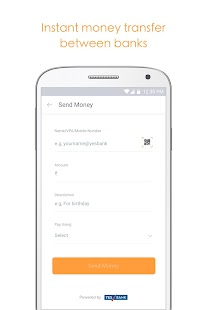 Citrus: Money Transfer via UPI Screenshot