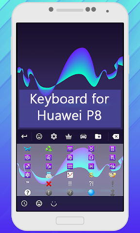 android Keyboard for Huawei P8 Screenshot 3