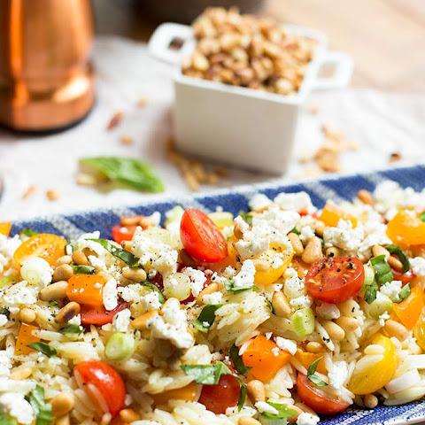 Lemon-Orzo Pasta Salad