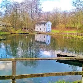 LVR-Freilichtmuseum Lindlar by Svetlana Saenkova - Instagram & Mobile Other ( pond,  )