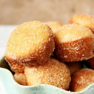 Cinnamon Sugar Mini Donut Muffins