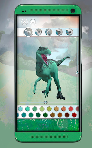 Dinosaurs 3D Coloring Book screenshot 4