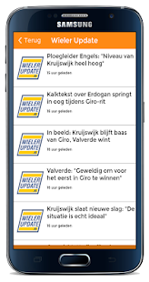 Sportnieuws - screenshot
