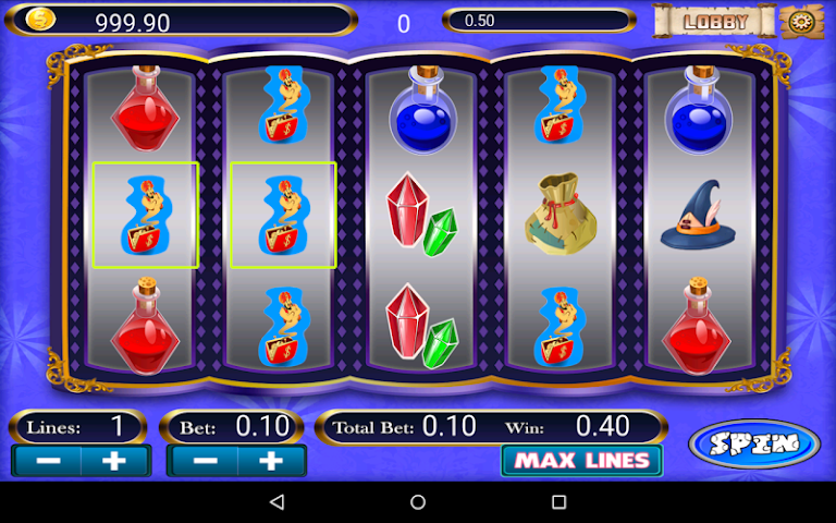 android Olympus Doubledown Slot Screenshot 4