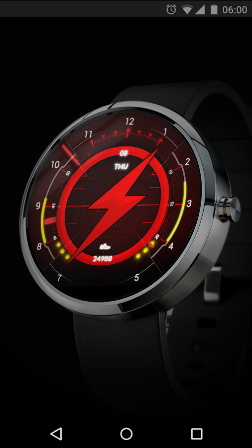 FLASH - Watch Face Screenshot 0