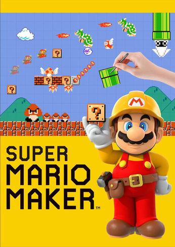 Super Mario Maker - box art