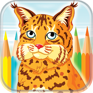 Download Wild Animals Coloring Book for PC