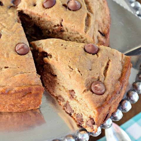 Lightened Up Banana Chocolate Chip Breakfast Cake