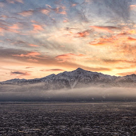 A sunset over Turnagain Arm by Patricia Phillips - Landscapes Travel ( alaska sunset cook inlet )