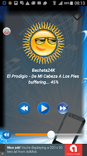 Radio Bachata PRO+ - screenshot