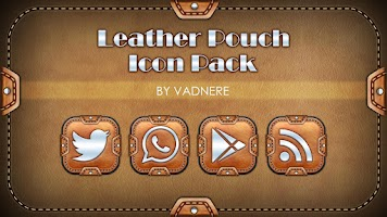 Screenshot of Leather Pouch TSF-Icon Pack