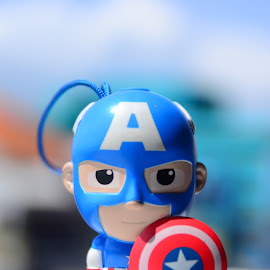 Captain Amerika by Rochmad Hidayat - Artistic Objects Toys