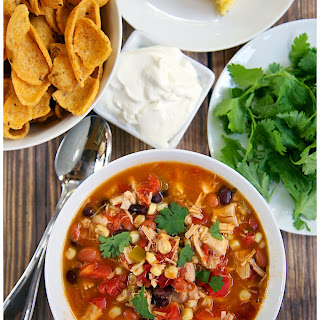 Chicken Taco Soup With Ranch Dressing Recipes
