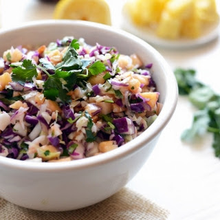 Paleo-Friendly Pineapple Coleslaw + BBQ Sides