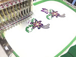 Single Head Sequin Embroidery Machine