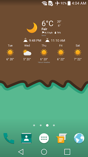 Sweet Weather Icon for Chronus - screenshot