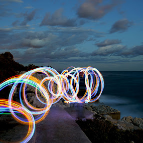 by Jean Marc Colonna d'Istria - Abstract Light Painting