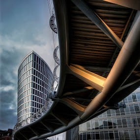 Valentines bridge by Angi Wallace - Buildings & Architecture Bridges & Suspended Structures (  architecture,  bristol,  hdr, bridge )