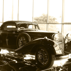 The Showroom. by Derrick DeCorte - Transportation Automobiles