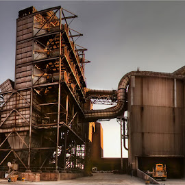 steel factory by Leon Pelser - Buildings & Architecture Other Exteriors ( f 13, 1/125, 15mm, iso 200, tripod,  )