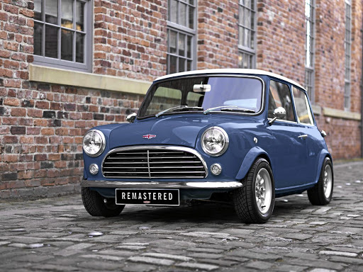 The Mini Remastered looks every bit the classic but look closely and there are modern touches