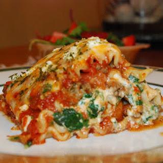 Mushroom Feta Lasagna Recipes
