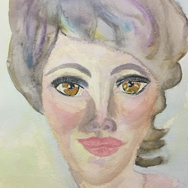 Julia by Jeanne Knoch - Painting All Painting