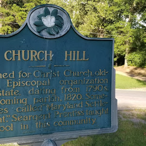 Named for Christ Church, oldest Episcopal organization dating from 1790's becoming parish, 1820. Sometimes called