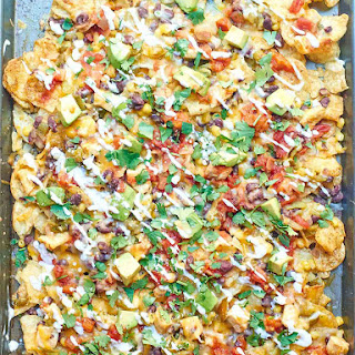 Kettle Chip Chicken Nachos
