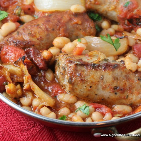Pam Anderson's Cassoulet-Style Italian Sausages and White Beans