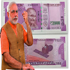 Modi Note Photo Frame