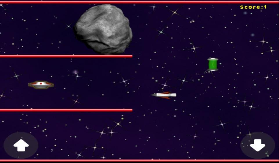 UFO-Asteroid-Run 10