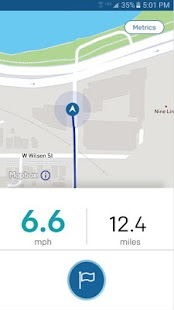 blackriver cycling - GPS Rides Fitness app screenshot for Android