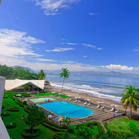Inna Beach Hotel by Rizky Darmawan - Buildings & Architecture Other Exteriors ( landscape )
