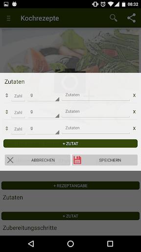 Kochrezepte - Rezepte kochen - screenshot